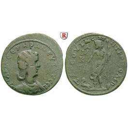 Römische Provinzialprägungen, Kilikien, Tarsos, Otacilia Severa, Frau Philippus I., Bronze, ss