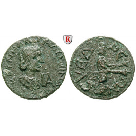 Römische Provinzialprägungen, Kilikien, Syedra, Salonina, Frau des Gallienus, 11 Assaria, ss+