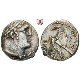 Judaea - Herodianer, Herodes Antipas, Schekel Jahr 162 = 36-37 n.Chr., ss+