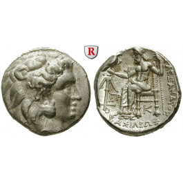 Makedonien, Königreich, Alexander III. der Grosse, Tetradrachme posthum um 332-300 v.Chr., vz