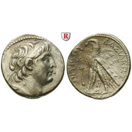 Syrien, Königreich der Seleukiden, Antiochos VII., Tetradrachme Jahr 181 = 132-131 v.Chr., ss
