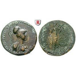 Kilikien, Adana, Bronze 164-30 v. Chr., ss+/s