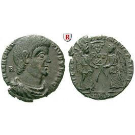 Römische Kaiserzeit, Magnentius, Bronze 350-353, ss-vz