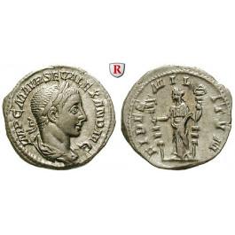 Römische Kaiserzeit, Severus Alexander, Denar 222-228 n.Chr., vz+