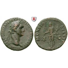 Römische Kaiserzeit, Domitianus, As 92-94, ss