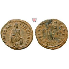 Römische Kaiserzeit, Maximinus II., Bronze 310-313, ss+
