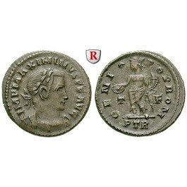 Römische Kaiserzeit, Maximinus II., Follis 310-313, ss-vz