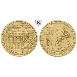 Österreich, 2. Republik, 50 Euro 2007, 10,0 g fein, PP