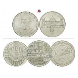 Bundesrepublik Deutschland, 5 DM 1966-1979, 7,0 g fein, vz