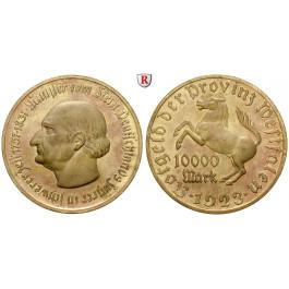 Nebengebiete, Westfalen, 10000 Mark 1923, vom Stein, st, J. N20a