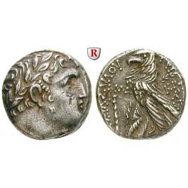 Judaea - Herodianer, Herodes Antipas, Schekel Jahr 144 = 18-19 n.Chr., ss