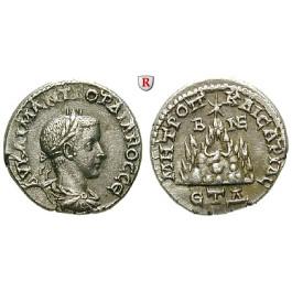 Römische Provinzialprägungen, Kappadokien, Caesarea, Gordianus III., Drachme Jahr 4 = 240/241, ss+