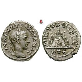 Römische Provinzialprägungen, Kappadokien, Caesarea, Gordianus III., Drachme Jahr 5 = 241/242, ss+
