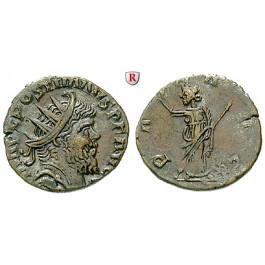 Römische Kaiserzeit, Postumus, Antoninian 3. Jh., ss-vz/ss