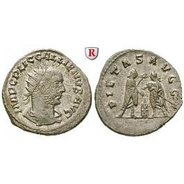Römische Kaiserzeit, Gallienus, Antoninian 255-256, vz/st