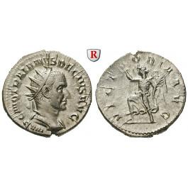Römische Kaiserzeit, Traianus Decius, Antoninian 249-251, f.st