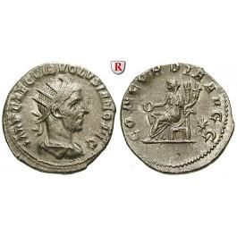 Römische Kaiserzeit, Volusianus, Antoninian 253, ss/ss+