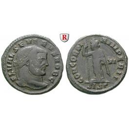 Römische Kaiserzeit, Severus II., Caesar, Follis 305-307, ss