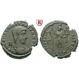 Römische Kaiserzeit, Constantius Gallus, Caesar, Follis 351, ss-vz