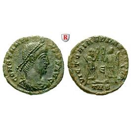 Römische Kaiserzeit, Constantius II., Bronze 347-348, vz