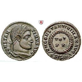 Römische Kaiserzeit, Constantinus I., Follis 321-324, st