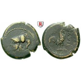 Italien-Kampanien, Teanum Sidicinum, Bronze 265-240 v.Chr., ss