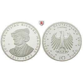 Bundesrepublik Deutschland, 10 Euro 2013, Wagner, D, PP