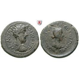 Römische Provinzialprägungen, Pontos, Amaseia, Commodus, Bronze Jahr 190 = 187-188, ss