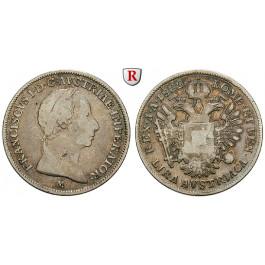 Österreich, Kaiserreich, Franz II. (I.), Lira 1822, f.ss