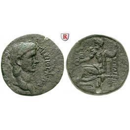 Römische Provinzialprägungen, Kappadokien, Caesarea, Claudius I., Bronze Jahr 5=44/45 n.Chr., ss