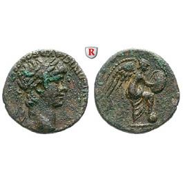 Römische Provinzialprägungen, Kappadokien, Caesarea, Nero, Hemidrachme, ss