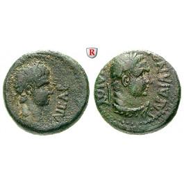 Römische Provinzialprägungen, Lydien, Sardeis, Nero, Bronze, ss