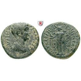 Römische Provinzialprägungen, Phrygien, Eumeneia, Nero, Bronze, ss