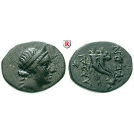 Römische Provinzialprägungen, Phrygien, Laodikeia am Lykos, Autonome Prägungen, Bronze 3. Drittel 2.-Ende 1.Jh. v.Chr., ss