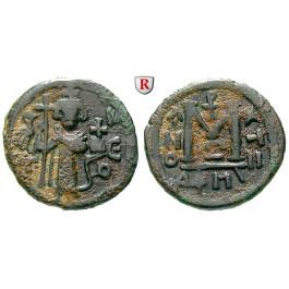Arabo-byzantinische Münzen, Fals 2. Hälfte 7. Jh., f.ss