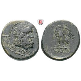Römische Provinzialprägungen, Mysien, Pergamon, Autonome Prägungen, Bronze 133-27 v.Chr., ss