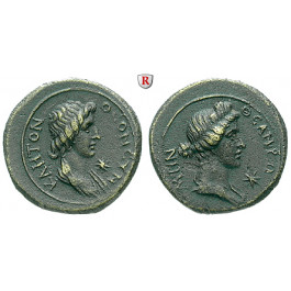 Römische Provinzialprägungen, Mysien, Pergamon, Autonome Prägungen, Bronze 41-68, vz