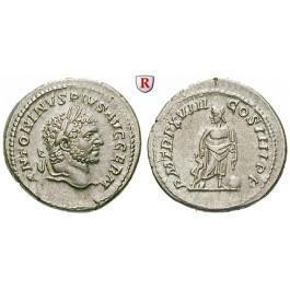 Römische Kaiserzeit, Caracalla, Denar 215, ss