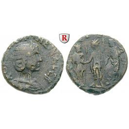 Römische Provinzialprägungen, Bithynien, Nikaia, Salonina, Frau des Gallienus, Bronze 254-268, ss