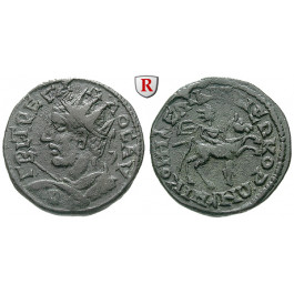 Römische Provinzialprägungen, Bithynien, Nicomedia, Trebonianus Gallus, Bronze, ss-vz