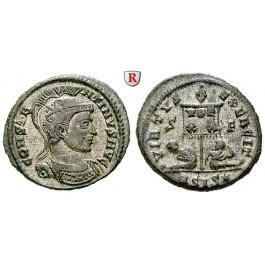 Römische Kaiserzeit, Constantinus I., Follis ca. 320, vz
