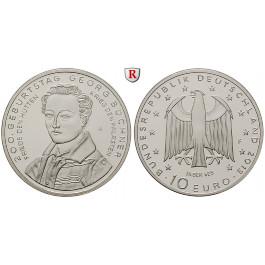 Bundesrepublik Deutschland, 10 Euro 2013, Büchner, F, PP