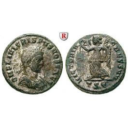 Römische Kaiserzeit, Crispus, Caesar, Follis 319, vz