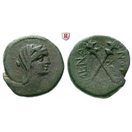 Sizilien, Menainon, Bronze 200-100 v.Chr., ss
