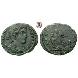 Römische Kaiserzeit, Magnentius, Bronze, ss