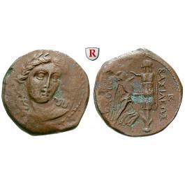 Syrien, Königreich der Seleukiden, Antiochos I., Bronze, ss