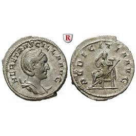 Römische Kaiserzeit, Herennia Etruscilla, Frau des Traianus Decius, Antoninian 249-251, f.st