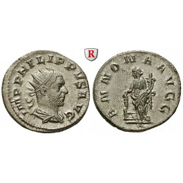 Römische Kaiserzeit, Philippus I., Antoninian 247-249, st