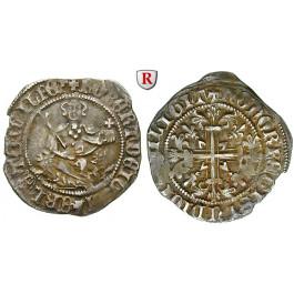 Italien, Neapel, Robert von Anjou, Grosso 1309-1349, ss+