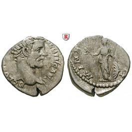 Römische Kaiserzeit, Clodius Albinus, Caesar, Denar 194, ss
